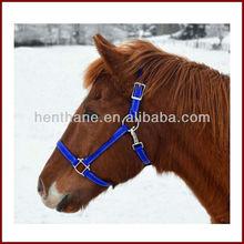 PVC blue horse halters cheap