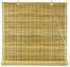bamboo blinds/bamboo curtain/Burnt bamboo roll up blinds in natural