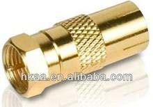 عالية الدقة النحاس المطلي بالذهب محول للصوتيات