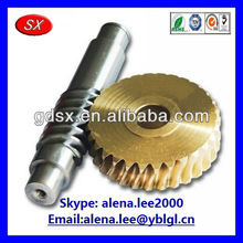 Custom stainless steel/brass gear cogs ISO/SGS/RoHS passed