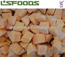 IQF sweet potato Frozen sweet potato (cube/dice)