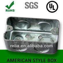Switch Box American USA Style Rectangular Metal Box