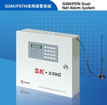 GSM & PSTN system for alarm