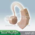 Detrás de la oreja de sonido amplificador Enhancer HAP-20