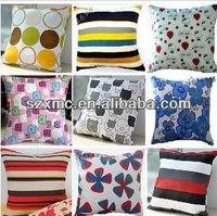 Various design cotton sofa cushion cover and pillow case