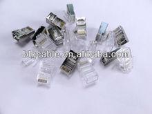 utp/ftp cat5e/cat6/cat7 rj45 connector/plug/modular jack