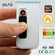 Custom logo promotional OEM USB lighter gift premium