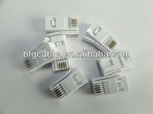telephone cables rj11 6p4c connectors