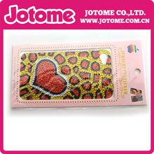 New DIY heart shape diamond sticker rhinestone sticker