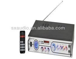 motorcycle stereo system amplifier SX K-2 FM radio/U-disk/SD/MMC reader/Kalaok moto amplifier