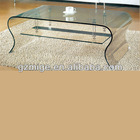 Totally Tempered Glass Led Coffee Table