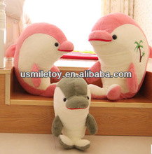 Underwater world crocodile dolphin and whale shark doll lovers of cushion plush toys large fish hold pillow