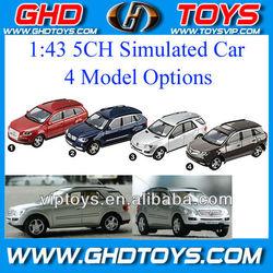 simulated model car 1:43 5ch remote control mini rc car toys