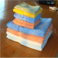 Terry plain color beach towel for export