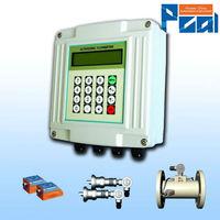 TUF-2000F Wall mounted ultrasonic flow meter/ultrasonic water meter manufacturer