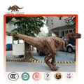 Disfraz de tiranosaurio Rex interactivo que camina