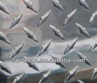 5 bar embossed aluminum sheet, aluminum checked sheet