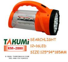 12+16 led powerful led flashlighting