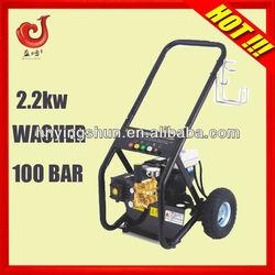 2013 china 2.2kw high pressure handy water jet floor washing cleaning machine