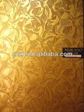 2013 new product brand new interior wall art panels mdf 4'x8'