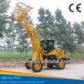 Aolite zl930m hierba horcas/rastrillos pequeño jardín pala cargadora retroexcavadora hecha en china con 2 toneladas de carga