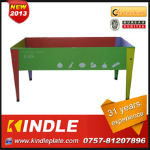 Modern designed and durable metal elevated garden beds for kids