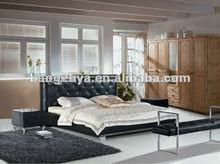 Crocodile skin bed furniture 609#
