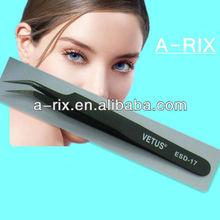 top selling stainless steel tweezers for eyelash extensons