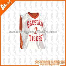 Custom Panel Stitching Basketball Uniform Design