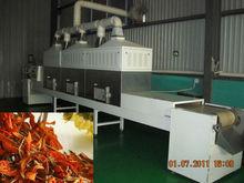 microwave flower tea drying and sterilization machine
