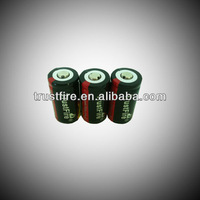 2013 New Product TrustFire 880mAh 3.6V 16340 lithium ion battery made in china multifunction for electronic products