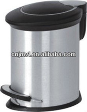 Dailyart 2013 Hot Sell Round Step standard size for room dustbin(VD01002)