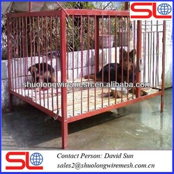 Many colors steel folding welded dog cage,strong stainless steel bar pet cage,sloping dog cages .