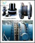 JGD flexible rubber bellow expansion joint