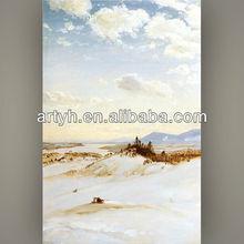 Latest landscape oil poster colour painting