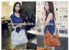 women lady rivet tote shoulde bag rmessenger handbag hobo bag