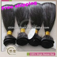 No Shedding No Dry Ends 5A Real Virgin Human Hair Brazilian Natural Straight