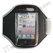 Wholesale Gym Sport Armband Case for iPhone 4 4G 4th Gen OS(Grey)
