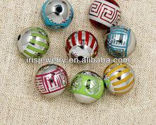YSR080 futian market yiwu china wholesale abs plastic chunky bead landing