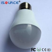 Lower cost 5w e27 380Lm 75Ra led mini solar led lamp bulb