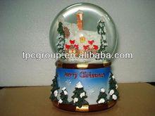 2013 fashionable Christmas snow globe,Water ball