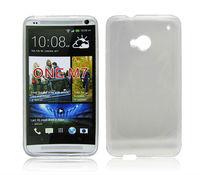 Soft Skin TPU Case for HTC ONE M7