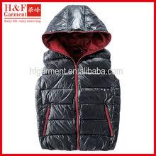 Mens body warmer vest for outdoor winter 2012 heavy weight black