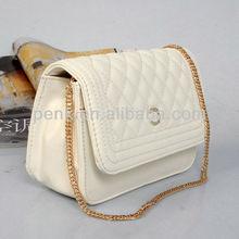 2013 Classical Trendy Designer Flap Bag Double CC Women Brand Name Shoulder Bag Fashion PU Leather Channel Quilted Handbag