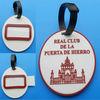 custom high quality round luggage bag tag for handbag