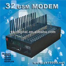 32 ports GSM Modem wireless edge modem driver