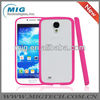 cell phone case for s4,TPU Bumper and PC matte back cover