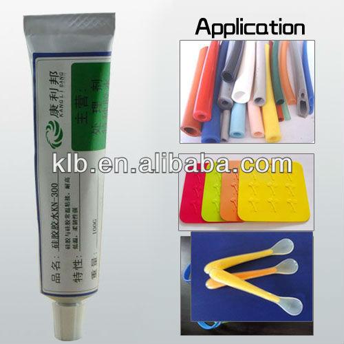 epoxy glue RTV adhesive for concrete and metal