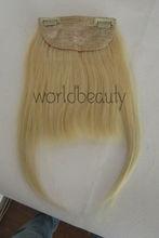 Human Hair Bang clip-on human hair bang