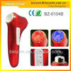 2013 zhongshan New Hot Selling 5 in 1 Galvanic ultrasonic photon face mask massager